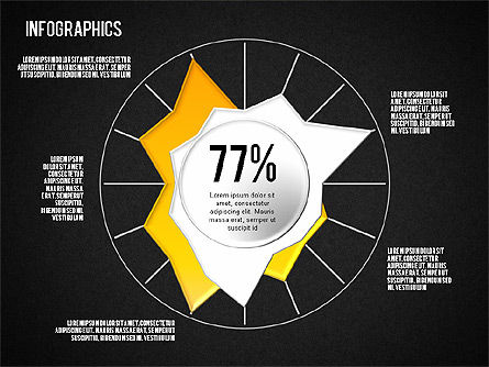 Set of Infographic Diagrams, Slide 10, 01580, Business Models — PoweredTemplate.com