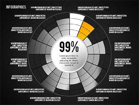 Set of Infographic Diagrams, Slide 11, 01580, Business Models — PoweredTemplate.com