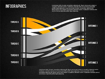 Set of Infographic Diagrams, Slide 12, 01580, Business Models — PoweredTemplate.com