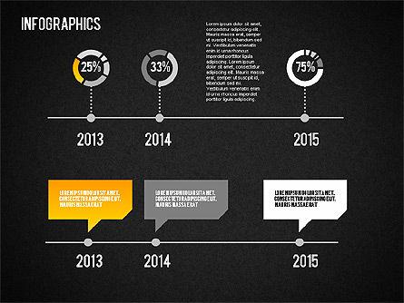 Set of Infographic Diagrams, Slide 15, 01580, Business Models — PoweredTemplate.com