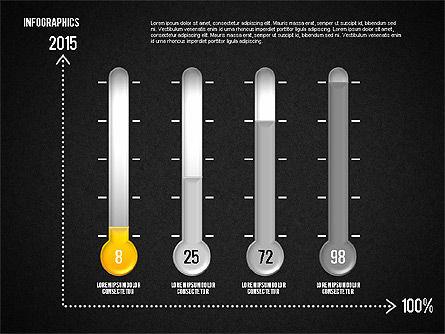 Set of Infographic Diagrams, Slide 16, 01580, Business Models — PoweredTemplate.com