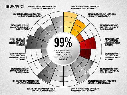 Set of Infographic Diagrams, Slide 3, 01580, Business Models — PoweredTemplate.com