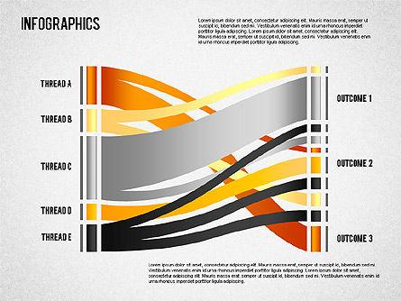 Set of Infographic Diagrams, Slide 4, 01580, Business Models — PoweredTemplate.com