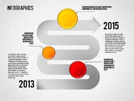 Set of Infographic Diagrams, Slide 5, 01580, Business Models — PoweredTemplate.com