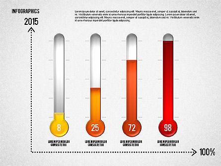 Set of Infographic Diagrams, Slide 8, 01580, Business Models — PoweredTemplate.com