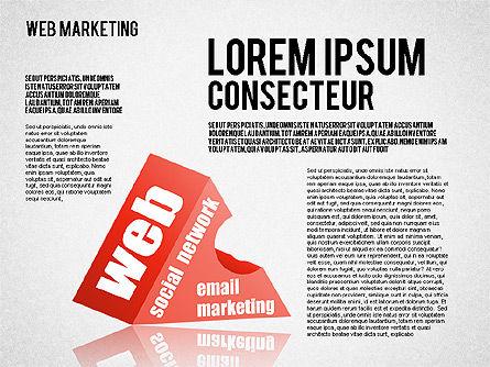 Web Marketing Diagram, Slide 2, 01581, Business Models — PoweredTemplate.com