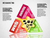 Business Models: Web Marketing Diagram #01581