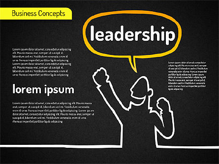 Idea Development Shapes, Slide 12, 01582, Business Models — PoweredTemplate.com