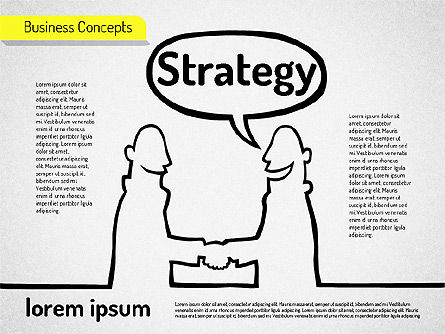 Idea Development Shapes, Slide 2, 01582, Business Models — PoweredTemplate.com
