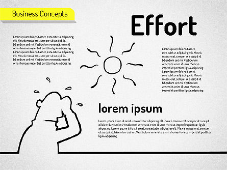 Idea Development Shapes, Slide 6, 01582, Business Models — PoweredTemplate.com