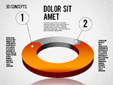 3D Concept Shapes and Diagrams#10