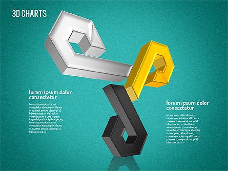 Free 3D Pattern Shapes, Slide 12, 01587, Shapes — PoweredTemplate.com