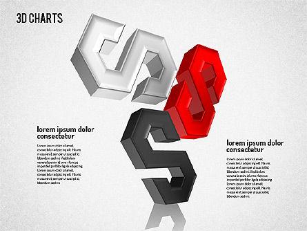 Free 3D Pattern Shapes, Slide 6, 01587, Shapes — PoweredTemplate.com