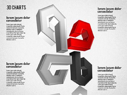 Free 3D Pattern Shapes, Slide 7, 01587, Shapes — PoweredTemplate.com