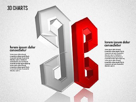 Free 3D Pattern Shapes, Slide 8, 01587, Shapes — PoweredTemplate.com