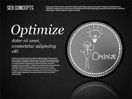 Search Engine Optimization Concept, Slide 14, 01589, Presentation Templates — PoweredTemplate.com