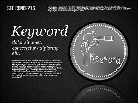 Search Engine Optimization Concept, Slide 15, 01589, Presentation Templates — PoweredTemplate.com