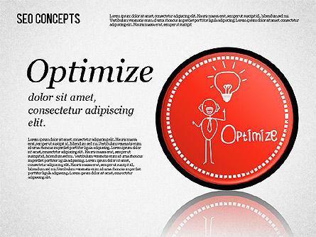 Search Engine Optimization Concept, Slide 6, 01589, Presentation Templates — PoweredTemplate.com