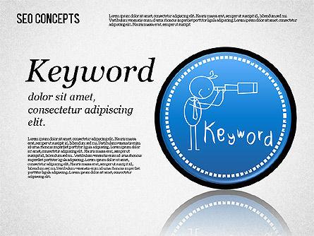 Search Engine Optimization Concept, Slide 7, 01589, Presentation Templates — PoweredTemplate.com