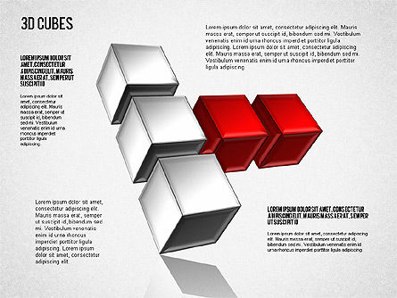 Complex 3D Cubes, Slide 7, 01592, Business Models — PoweredTemplate.com