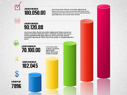 Bar Charts Toolbox, Slide 4, 01593, Business Models — PoweredTemplate.com