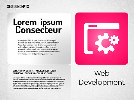 SEO Concept with Icons, 01596, Icons — PoweredTemplate.com