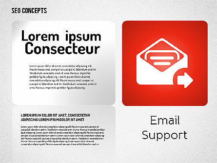 SEO Concept with Icons, Slide 4, 01596, Icons — PoweredTemplate.com