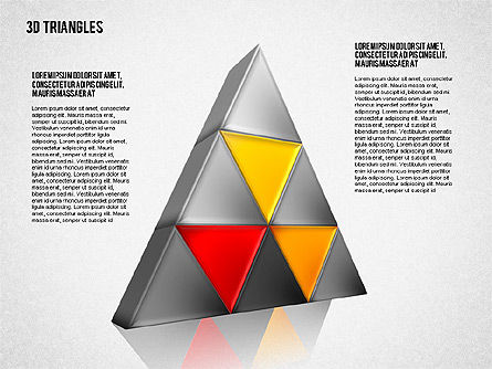 Shapes from Triangles, Slide 2, 01597, Shapes — PoweredTemplate.com