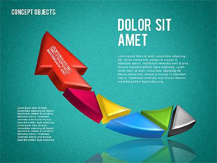 Creative Objects, Slide 10, 01603, Shapes — PoweredTemplate.com