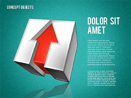 Creative Objects, Slide 13, 01603, Shapes — PoweredTemplate.com