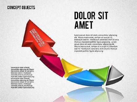 Creative Objects, Slide 2, 01603, Shapes — PoweredTemplate.com