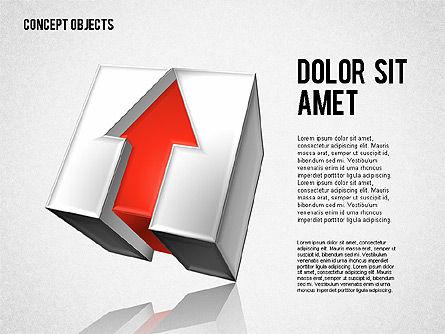 Creative Objects, Slide 5, 01603, Shapes — PoweredTemplate.com