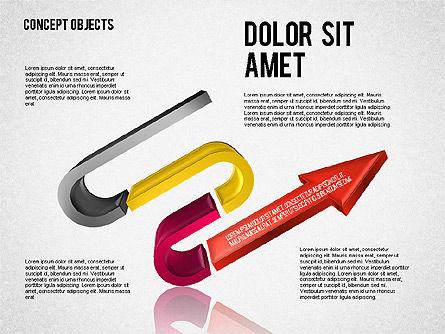Creative Objects, Slide 8, 01603, Shapes — PoweredTemplate.com