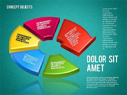 Creative Objects, Slide 9, 01603, Shapes — PoweredTemplate.com