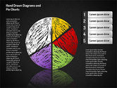 Crayon Style Pie Charts#10