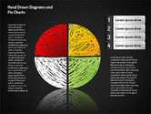 Crayon Style Pie Charts#7