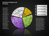 Crayon Style Pie Charts#8