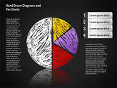 Crayon Style Pie Charts#9