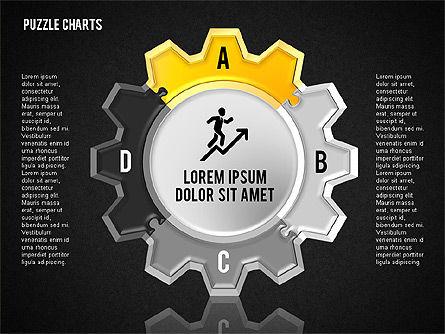 Puzzle Toolbox, Slide 14, 01610, Puzzle Diagrams — PoweredTemplate.com