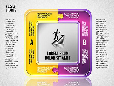Puzzle Toolbox, Slide 2, 01610, Puzzle Diagrams — PoweredTemplate.com