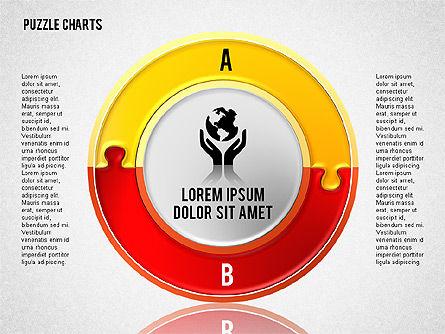 Puzzle Toolbox, Slide 4, 01610, Puzzle Diagrams — PoweredTemplate.com