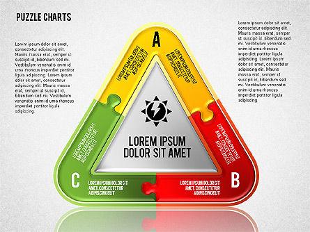 Puzzle Toolbox, Slide 5, 01610, Puzzle Diagrams — PoweredTemplate.com