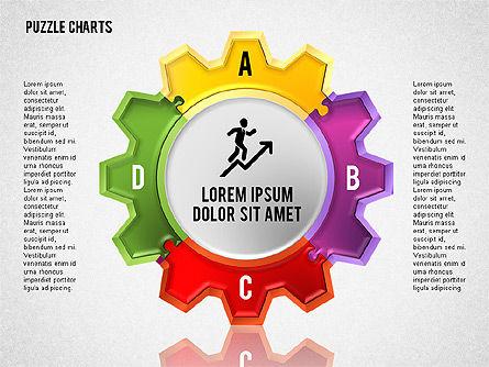 Puzzle Toolbox, Slide 6, 01610, Puzzle Diagrams — PoweredTemplate.com