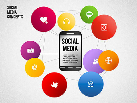Business Models: Social Media Concept #01622
