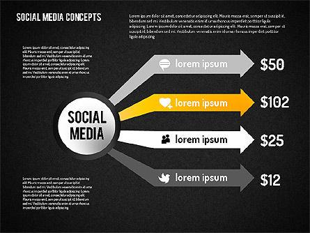 Social Media Concept, Slide 11, 01622, Business Models — PoweredTemplate.com
