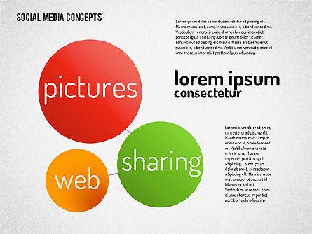 Social Media Concept, Slide 2, 01622, Business Models — PoweredTemplate.com