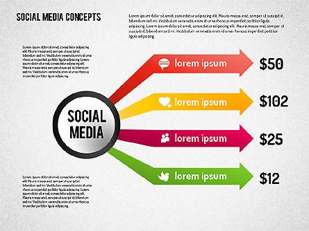 Social Media Concept, Slide 3, 01622, Business Models — PoweredTemplate.com
