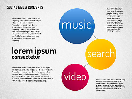 Social Media Concept, Slide 6, 01622, Business Models — PoweredTemplate.com