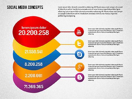 Social Media Concept, Slide 7, 01622, Business Models — PoweredTemplate.com