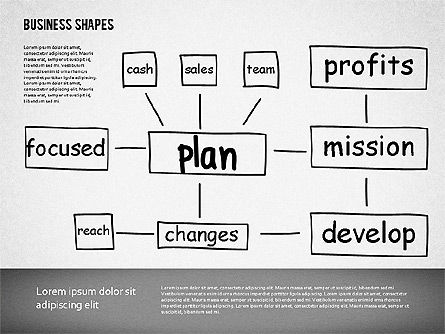 Business Plan Template, 01627, Business Models — PoweredTemplate.com